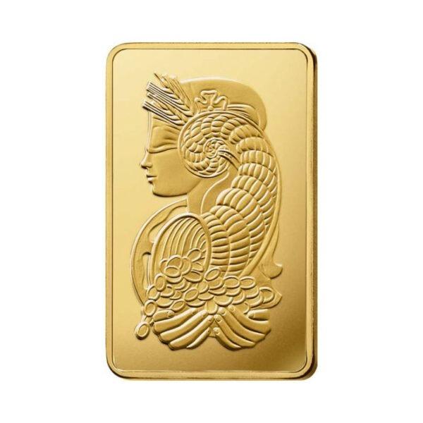 Zlatna poluga 500 grama PAMP, stražnja strana
