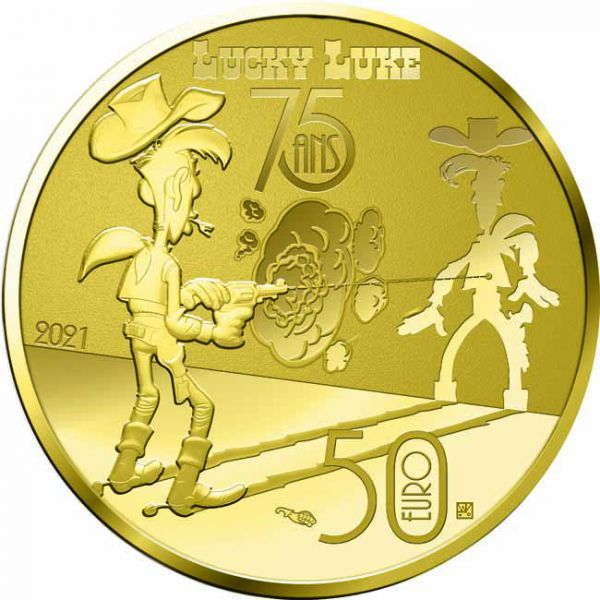 Zlatnik Talicni Tom (Lucky Luke)
