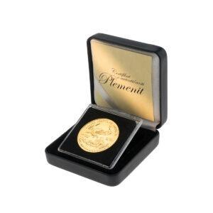 Zlatnik American Eagle (Američki orao) 1 unca u poklon kutiji od umjetne kože, stražnja strana