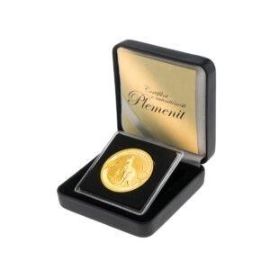Zlatnik Australian Kangaroo 1 unca u poklon kutiji od umjetne kože, prednja strana