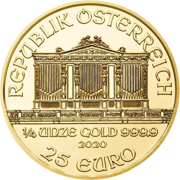 Zlatnik Wiener Philharmoniker četvrtina unce 1/4 oz (7,77 grama)