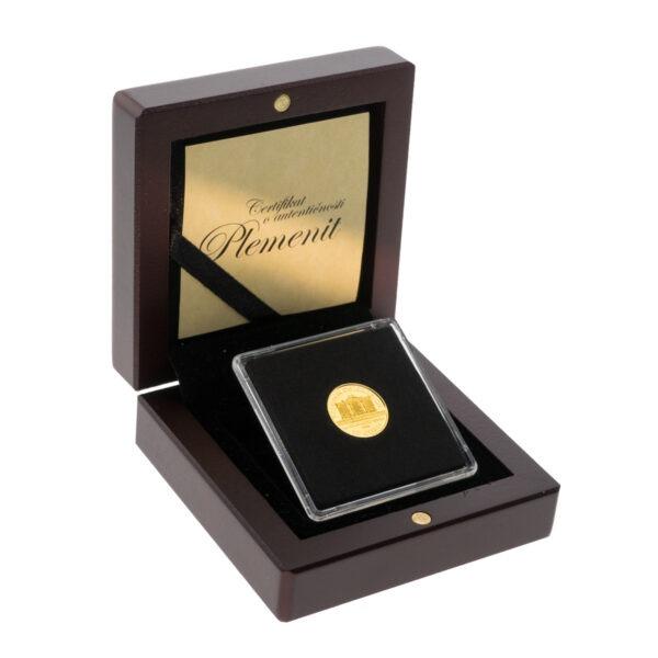 Zlatnik Wiener Philharmoniker od desetine unce, prednja strana