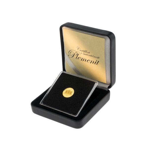 Zlatnik WIener Philharmoniker od jedne dvadesetpetine unce, prednja strana