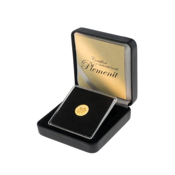 Zlatnik WIener Philharmoniker od jedne dvadesetpetine unce, stražnja strana
