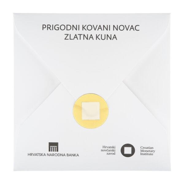 Prigodna kuverta za Zlatnu kunu