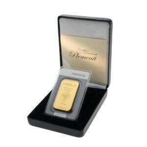 Zlatna poluga 100 grama Heraeus u poklon kutiji od umjetne kože