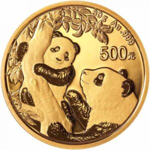 Zlatnik Kineski panda 30 grama, prednja strana