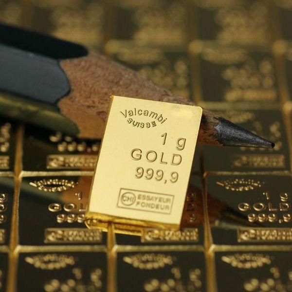Zlatna poluga 1 gram Combibar odlomljena