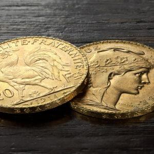 Zlatnik 20 francuskih franaka