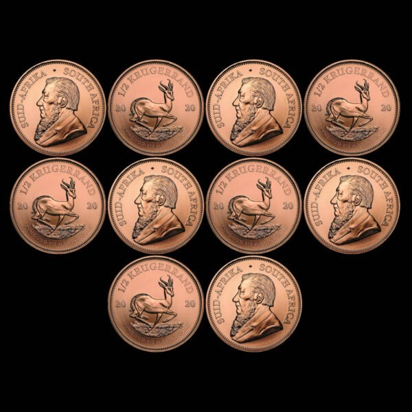 Zlatnik Krugerrand pola unce akcija za 10 komada
