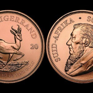 Zlatnik Krugerrand pola unce akcija